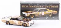 Darrell Waltrip Signed NASCAR #95 1971 Mercury Cyclone 1:24 Premium Diecast Car (PA COA)