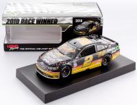 Brad Keselowski Signed 2018 NASCAR #2 Miller Genuine Draft - Darlington Win - Raced Version - 1:24 Premium Action Diecast Car (PA COA)
