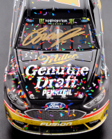 Brad Keselowski Signed 2018 NASCAR #2 Miller Genuine Draft - Darlington Win - Raced Version - 1:24 Premium Action Diecast Car (PA COA) at PristineAuction.com