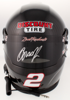 Brad Keselowski Signed 2018 NASCAR Discount Tire Full-Size Helmet (PA COA) at PristineAuction.com