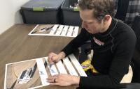 Brad Keselowski Signed Exclusive NASCAR 11x14 Photo (PA COA) at PristineAuction.com