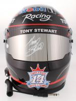 Tony Stewart Signed 2018 NASCAR Mobil 1 Full-Size Helmet (JSA COA)