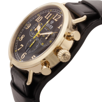 Jules Breting Discovery One Men's Chronograph Watch at PristineAuction.com
