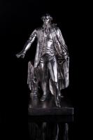 11 oz Antique Finish George Washington Silver Statue (New, Box + CoA)