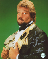 "Ted DiBiase Signed WWE 8x10 Photo Inscribed ""$"" (Fiterman Sports Hologram)"