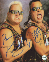"Brian Knobbs & Jerry Sags Signed ""The Nasty Boys"" 8x10 Photo (Fiterman Sports Hologram)"