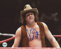 "Bob Orton Jr. Signed WWF 8x10 Photo Inscribed ""Cowboy"" (Fiterman Sports Hologram)"