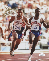 James Jett Signed Team USA 8x10 Photo (JSA COA)