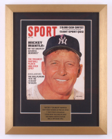 Vintage Sport Magazine 15x19 Custom Framed Display