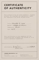 "Brianna Voron Signed ""Saguaro at Dusk"" 8x10 2018 Charcoal & Pastel Print (Voron COA) at PristineAuction.com"