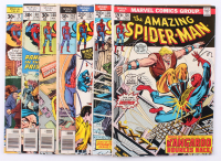 """Lot of (7) 1970's Spider-Man Marvels Comic Books with (5) """"The Amazing Spider-Man"""" & (2) """"Marvel Tales"""""""