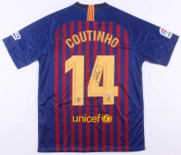 Philippe Coutinho Signed FC Barcelona Nike Jersey (Beckett COA)