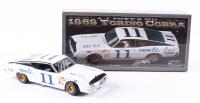 A.J. Foyt Signed NASCAR #11 1969 Torino Cobra 1:24 Premium Diecast Car (PA COA)