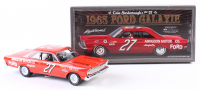Cale Yarborough Signed NASCAR #27 1965 Ford Galaxie 1:24 Premium Diecast Car (PA COA)