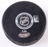Niklas Hjalmarsson Signed Chicago Blackhawks Logo Hockey Puck (Schwartz COA) at PristineAuction.com