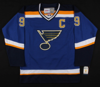 Wayne Gretzky Signed St. Louis Blues Captains Jersey (JSA LOA) at PristineAuction.com