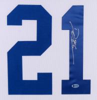 Deion Sanders Signed Dallas Cowboys 35x43 Custom Framed Jersey (Beckett COA) at PristineAuction.com