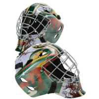 Devan Dubnyk Signed Minnesota Wild Full-Size Goalie Mask (Fanatics Hologram)