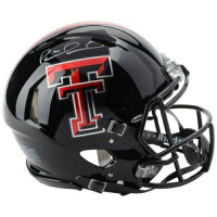 Patrick Mahomes Signed Texas Tech Red Raiders Full-Size Authentic On-Field Speed Helmet (Fanatics Hologram)