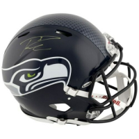 Russell Wilson Signed Seattle Seahawks Full-Size Authentic On-Field Speed Helmet (Fanatics Hologram) at PristineAuction.com