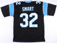 "Rod Smart Signed Carolina Panthers Jersey Inscribed ""2003 NFC Champs"" (JSA COA)"
