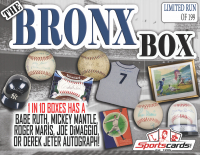 """THE BRONX BOX"" Yankee Super Mystery Box – 8+ Items Per Box! LOADED!"