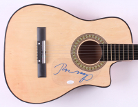 "John Mellencamp Signed 38"" Acoustic Guitar (JSA COA)"