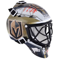 Marc-Andre Fleury Signed Golden Knights Mini Goalie Mask (Fanatics Hologram) at PristineAuction.com
