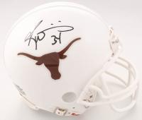 Ricky Williams Signed Texas Longhorns Mini Helmet (JSA COA) at PristineAuction.com
