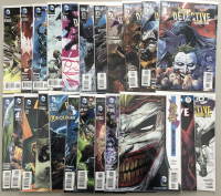 "Lot of (23) 2011-17 DC ""Batman Detective Comics"" Comic Books"