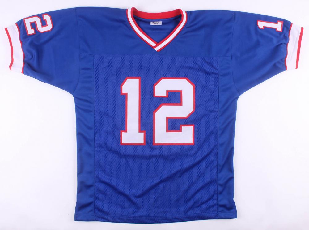 f204358e74a Jim Kelly Signed Buffalo Bills Jersey (JSA COA) at PristineAuction.com