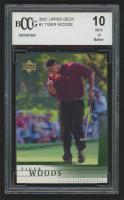 2001 Upper Deck #1 Tiger Woods RC (BCCG 10)