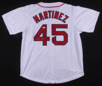 Pedro Martinez Signed Boston Red Sox Jersey (JSA COA)