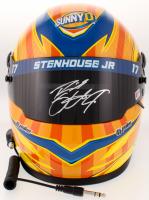 Ricky Stenhouse Jr. Signed 2018 NASCAR Sunny Delight Full-Size Helmet (PA COA)