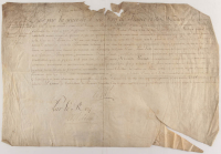 Louis XIV of France Signed 1683 Nomination of Robert Fleury Document
