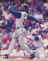 Ken Griffey Jr. Signed Seattle Mariners 8x10 Photo (JSA COA)