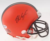 Baker Mayfield Signed Cleveland Browns Mini Helmet (PSA COA)