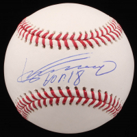 "Vladimir Guerrero Signed OML Baseball Inscribed ""HOF 18"" (JSA COA) at PristineAuction.com"