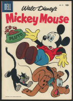 """Vintage 1956 """"Walt Disney's Mickey Mouse"""" Issue #50 Dell Comic Book"""