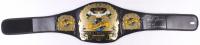 "Royce Gracie Signed Full-Size UFC #1 Championship Belt Inscribed ""HOF 03"" & ""UFC 1, 2 & 4 Champ"" (PA COA)"