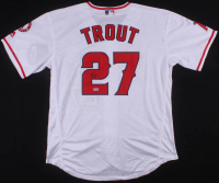 Mike Trout Signed Los Angeles Angels Jersey (PSA COA)