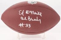 "Ed O'Neill Signed NFL Football Inscribed ""Al Bundy"" (Schwartz COA)"