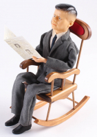 Vintage John F. Kennedy LE Kamar Doll with Rocking Chair