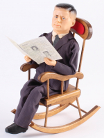 Vintage John F. Kennedy LE Kamar Doll with Rocking Chair (Kamar LOA)