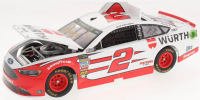 Brad Keselowski Signed 2018 NASCAR #2 Wurth - 1:24 Premium Action Diecast Car (PA COA) at PristineAuction.com