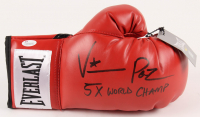 "Vinny Paz Signed Everlast Boxing Glove Inscribed ""5x World Champ"" (JSA COA)"