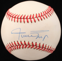 Willie Mays Signed ONL Baseball (PSA COA)