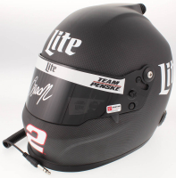 Brad Keselowski Signed 2018 NASCAR Miller Lite Full-Size Helmet (PA COA) at PristineAuction.com