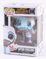 "Sid Haig Signed ""Rob Zombie"" Captain Spaulding #58 Funko Pop! Vinyl Figure Inscribed ""Captain Spaulding"" (Beckett & Legends COA)"