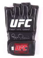"""Royce Gracie Signed UFC Glove Inscribed """"First UFC Champ"""" (PA COA)"""